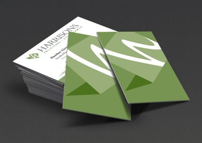 Harrisons-Solicitors-branding-business-cards