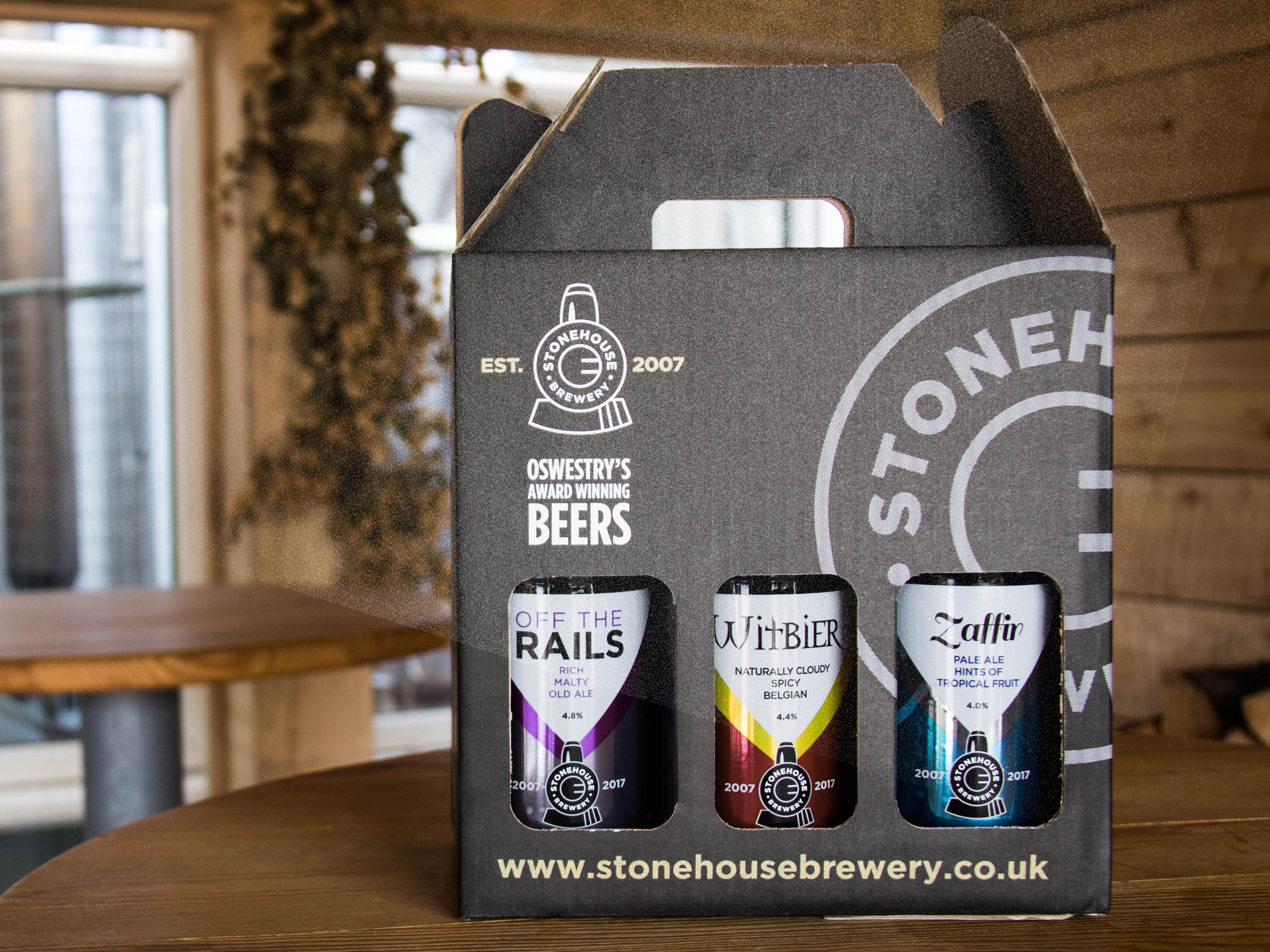 Stonehouse Brewery gift packs