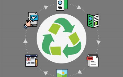 Recycling is not just for your rubbish! Plan your creative work for multiple use to ensure a sustainable promotional campaign.