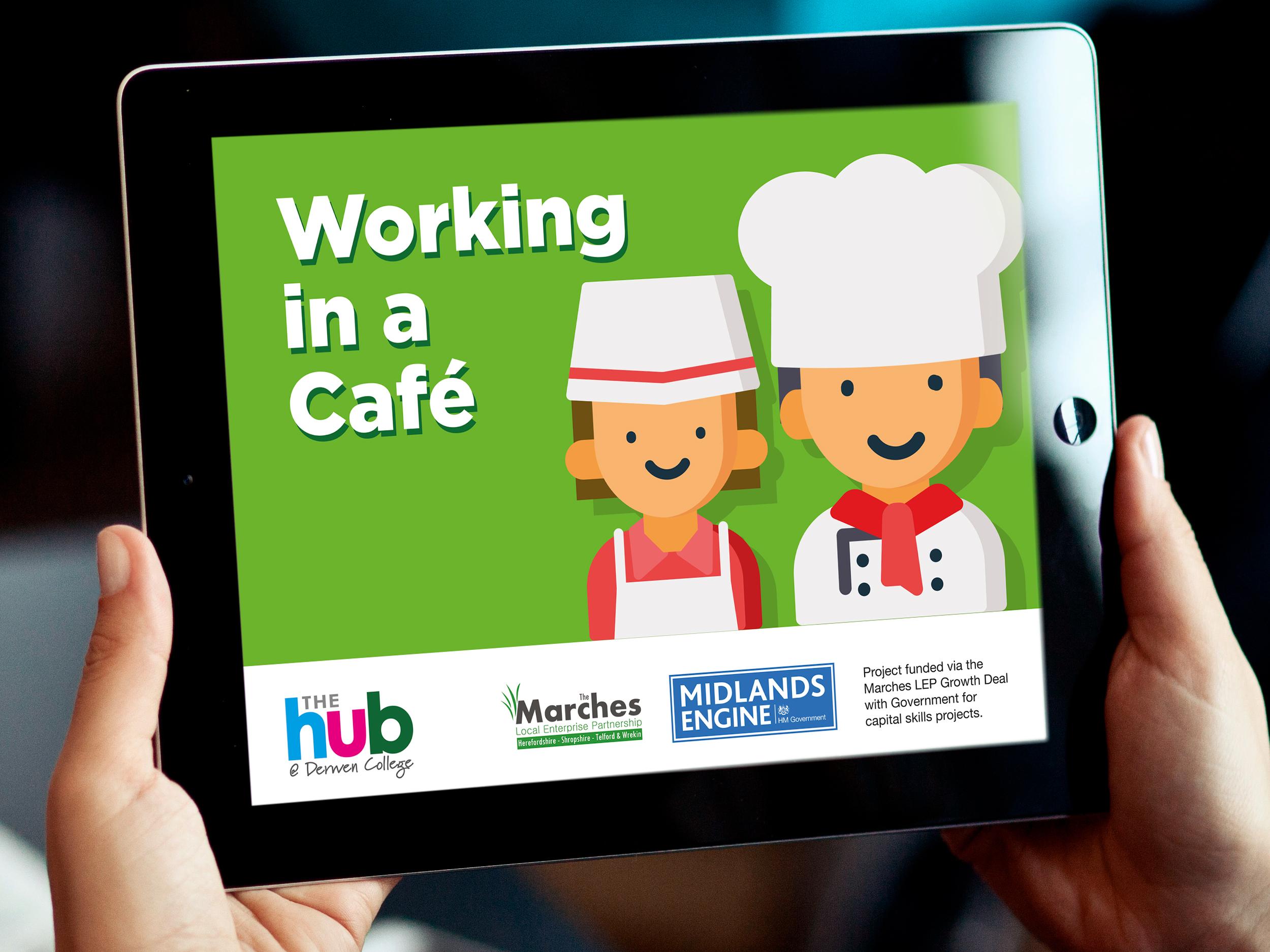 Derwen Cafe App