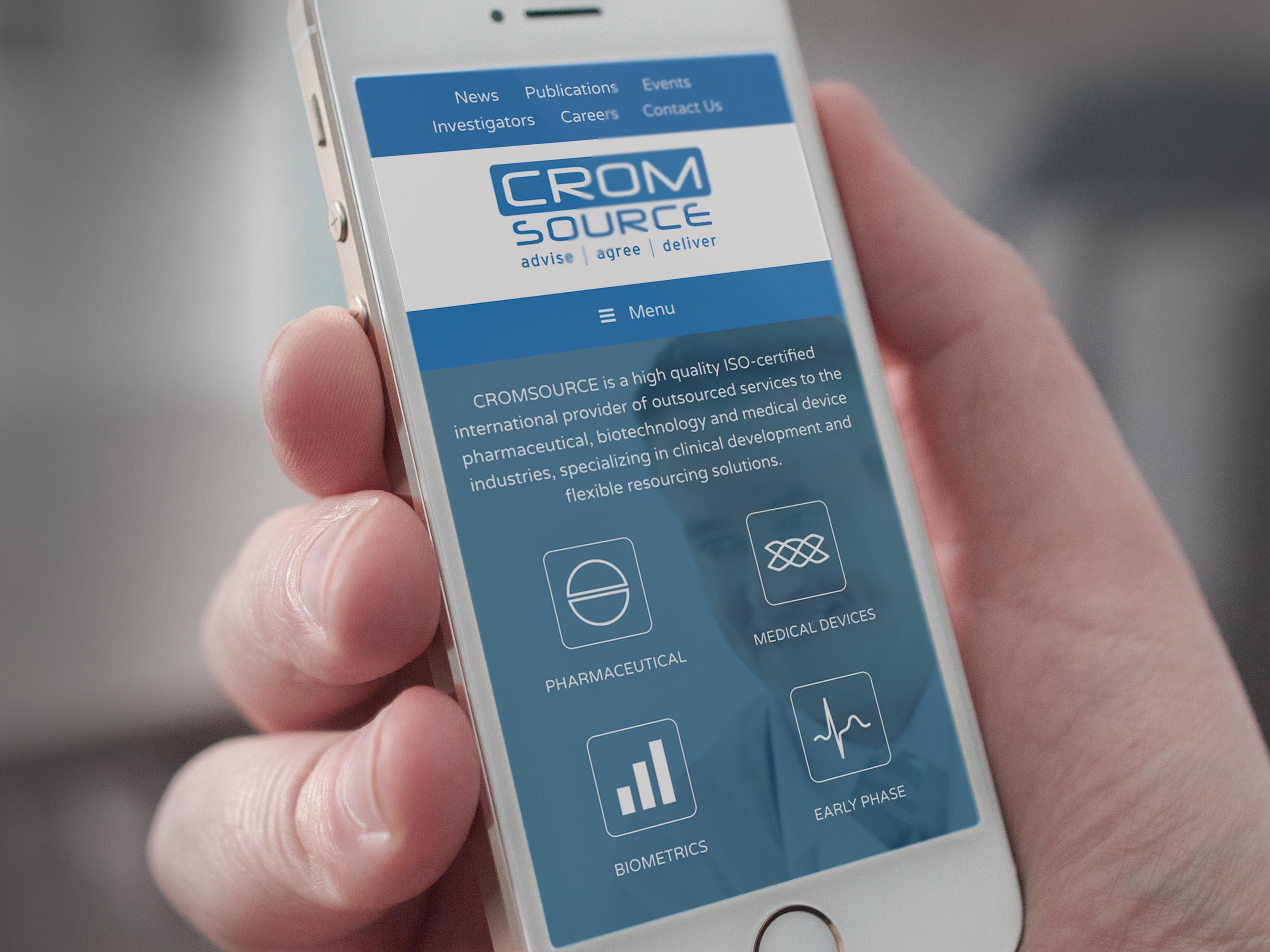 CROMSOURCE website