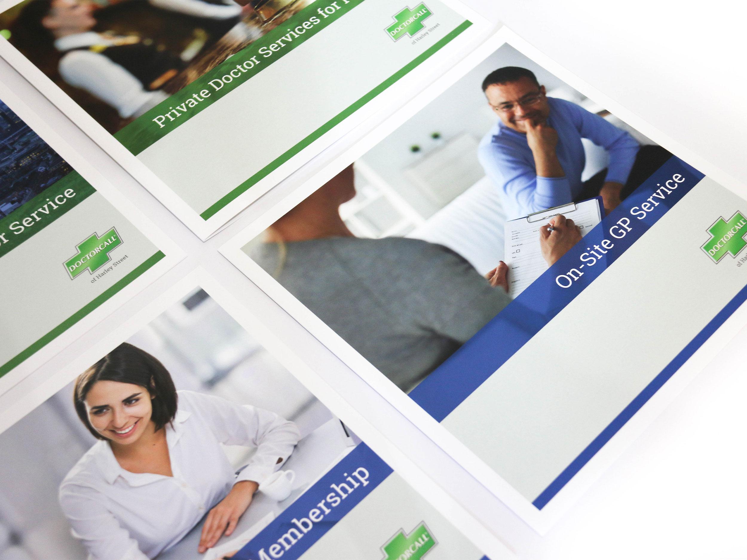 Doctorcall brochures