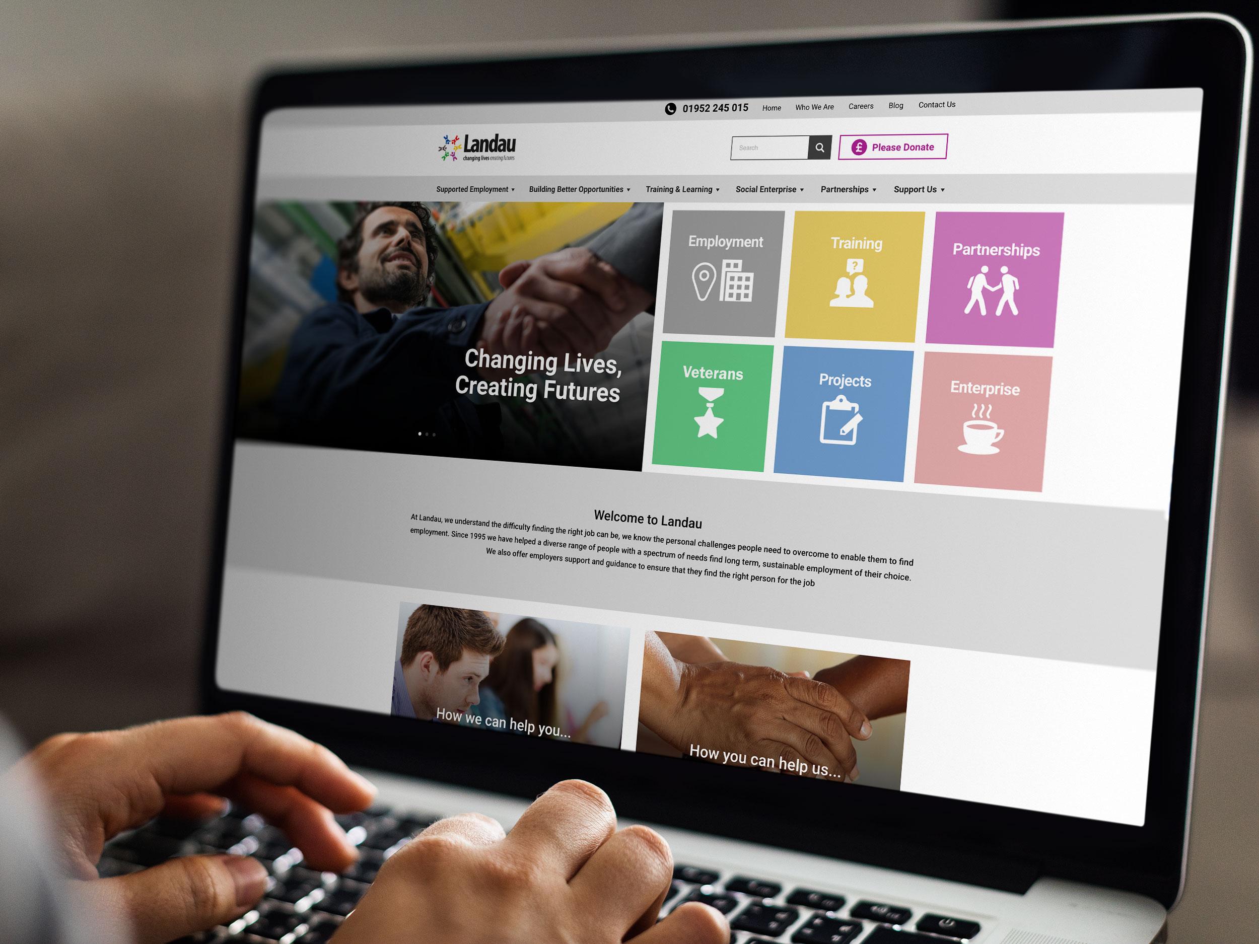 Landau website