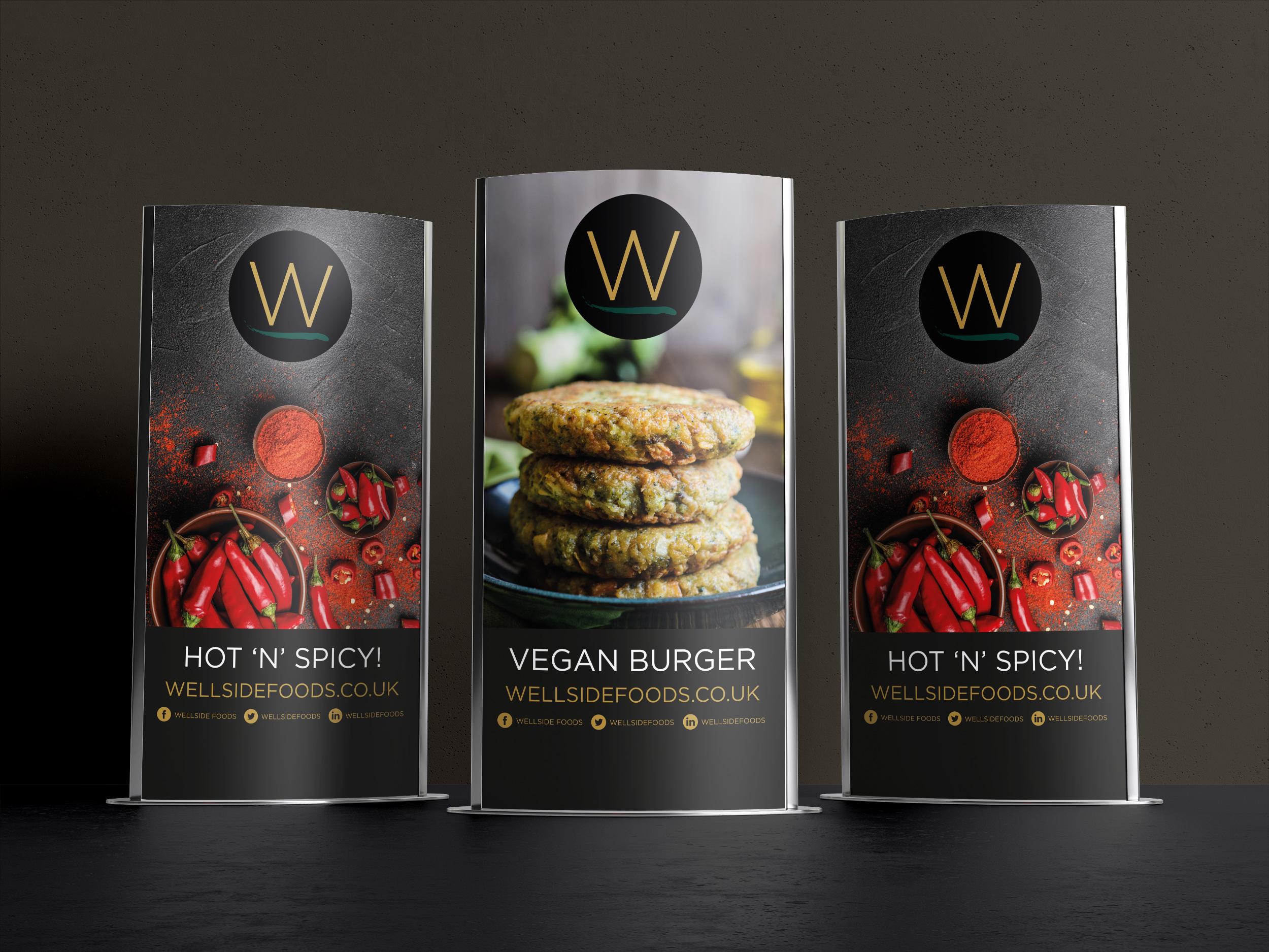 Wellside Foods banners