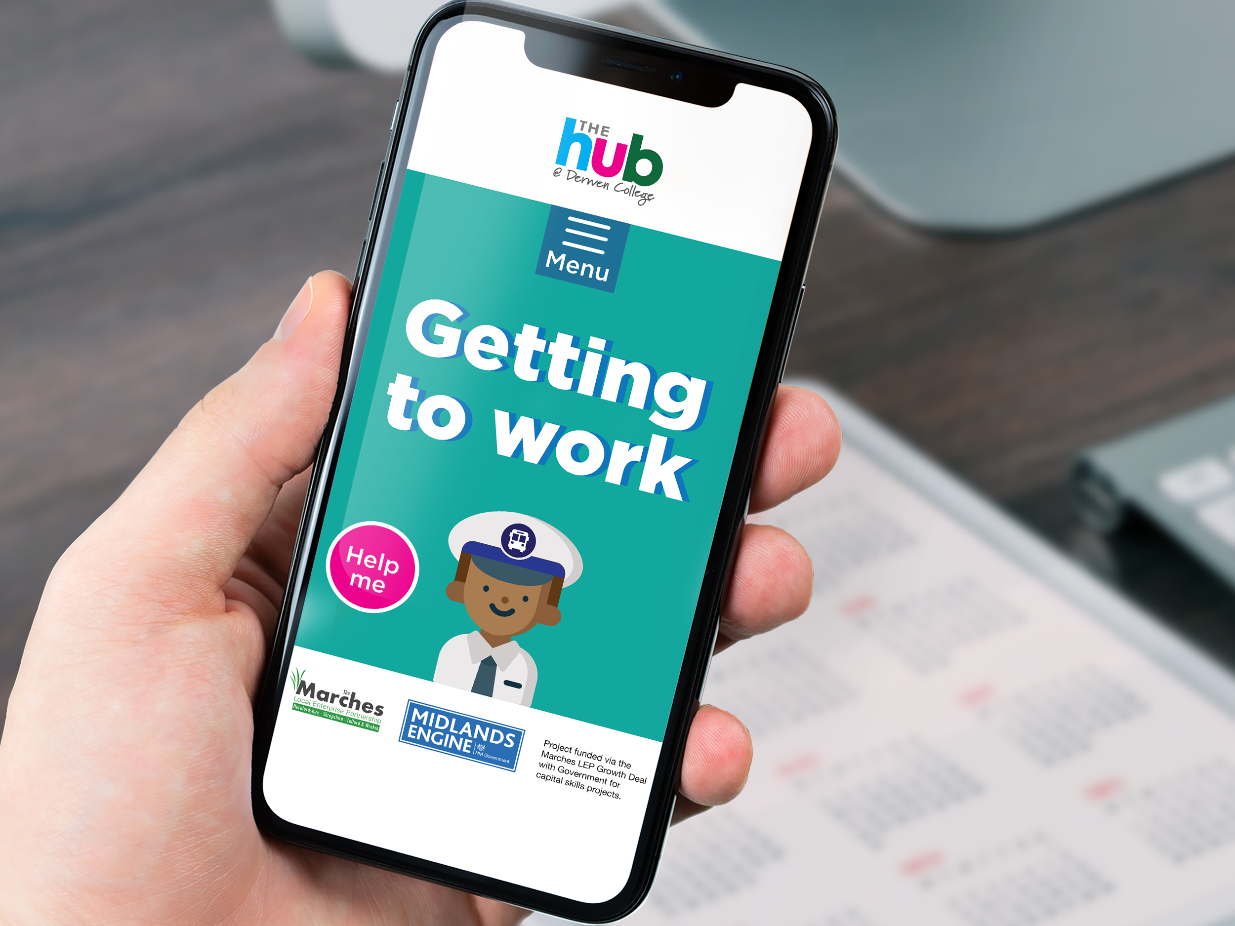 Getting to work App