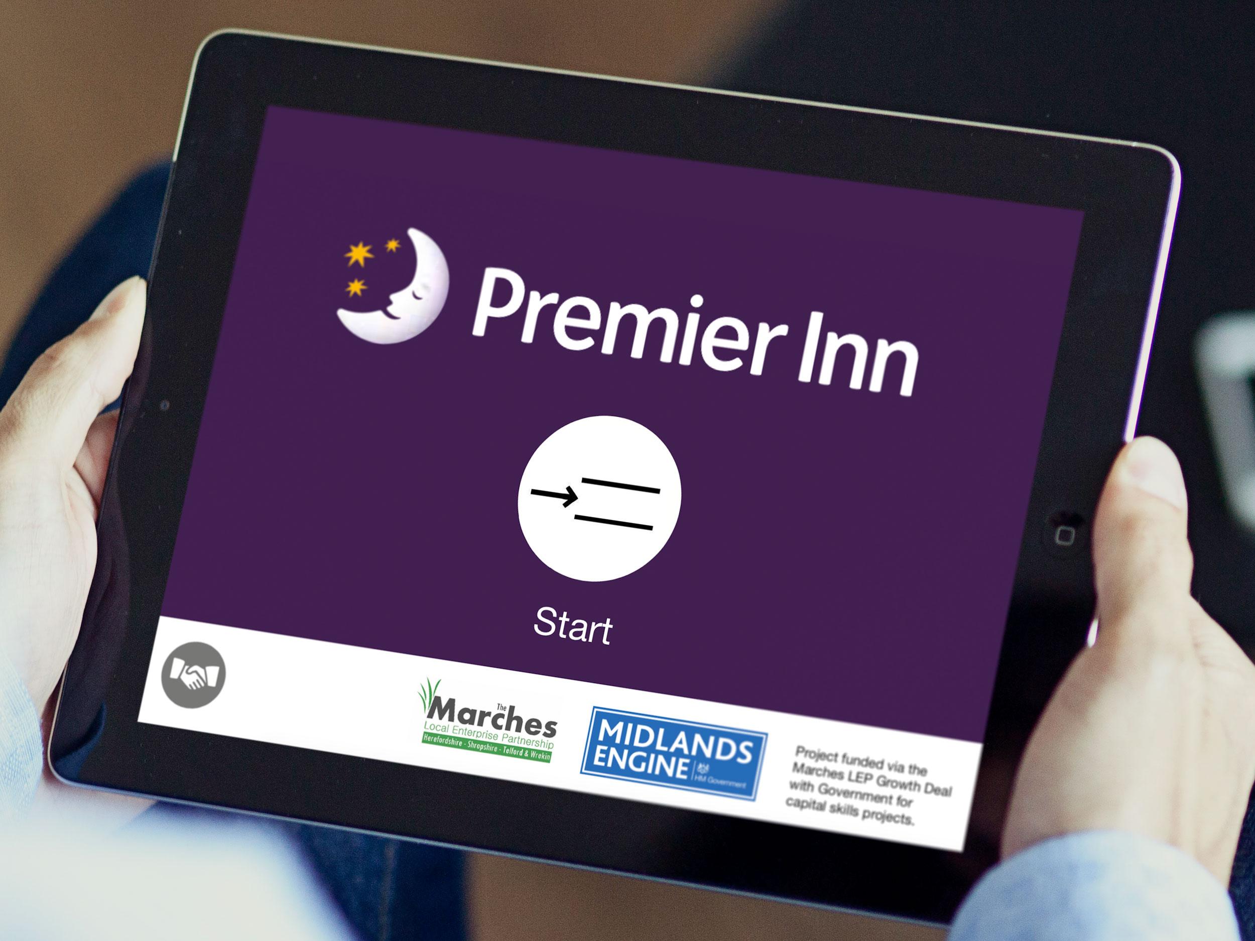 Premier Inn Training App