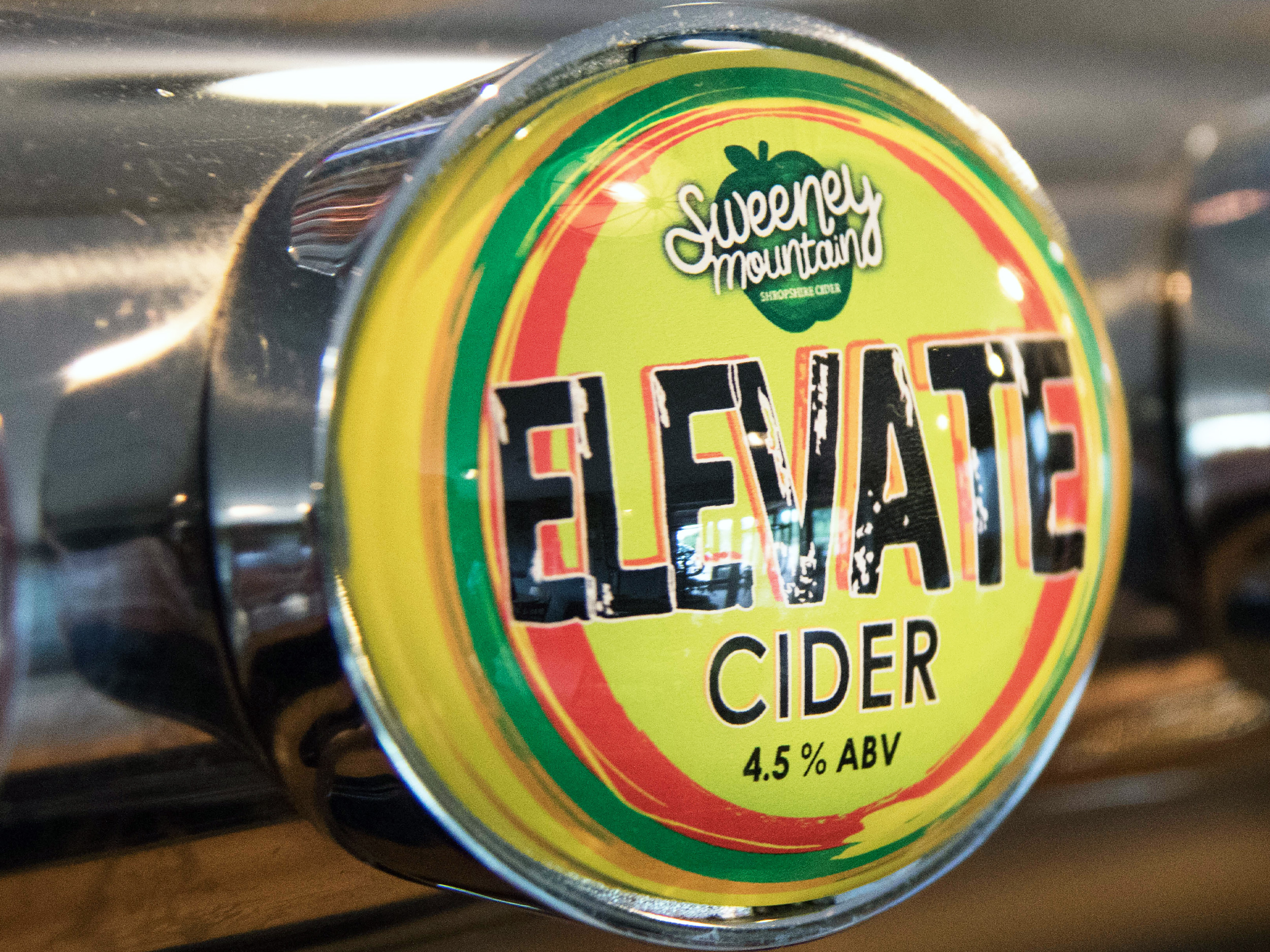 Elevate Cider pump clip