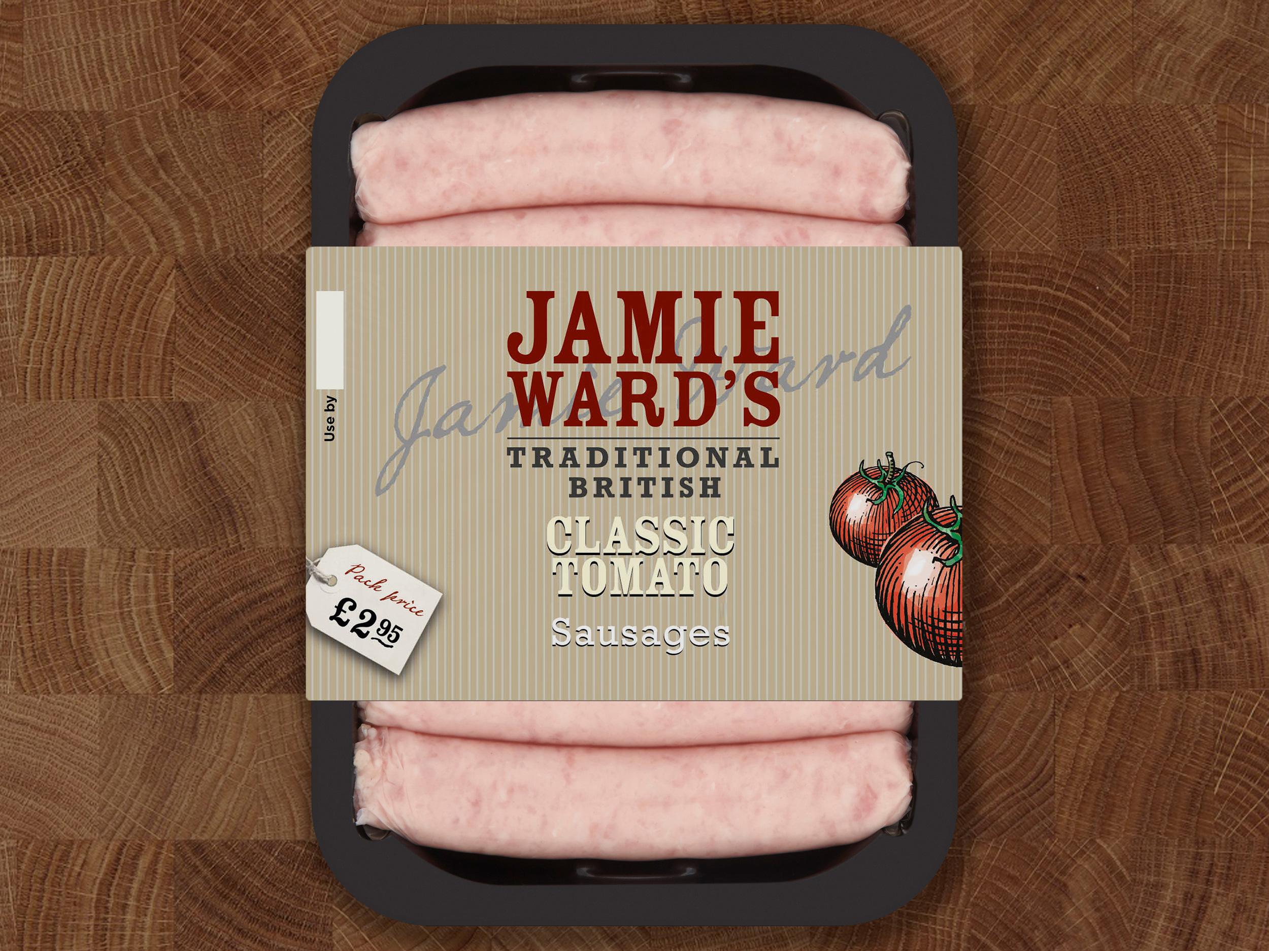 Jamie Ward packaging