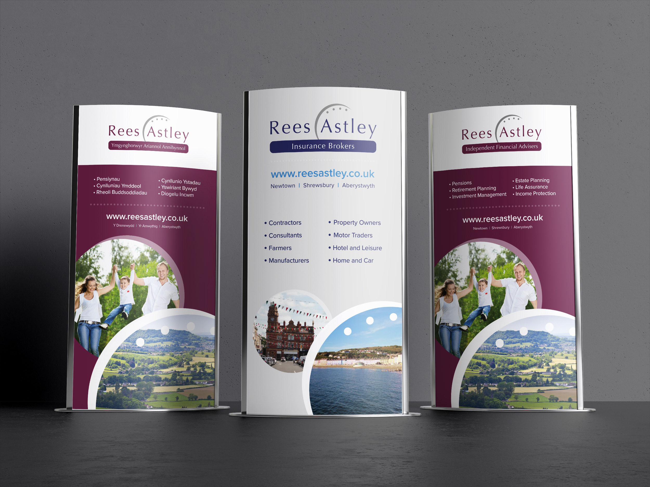 Rees Astley banners