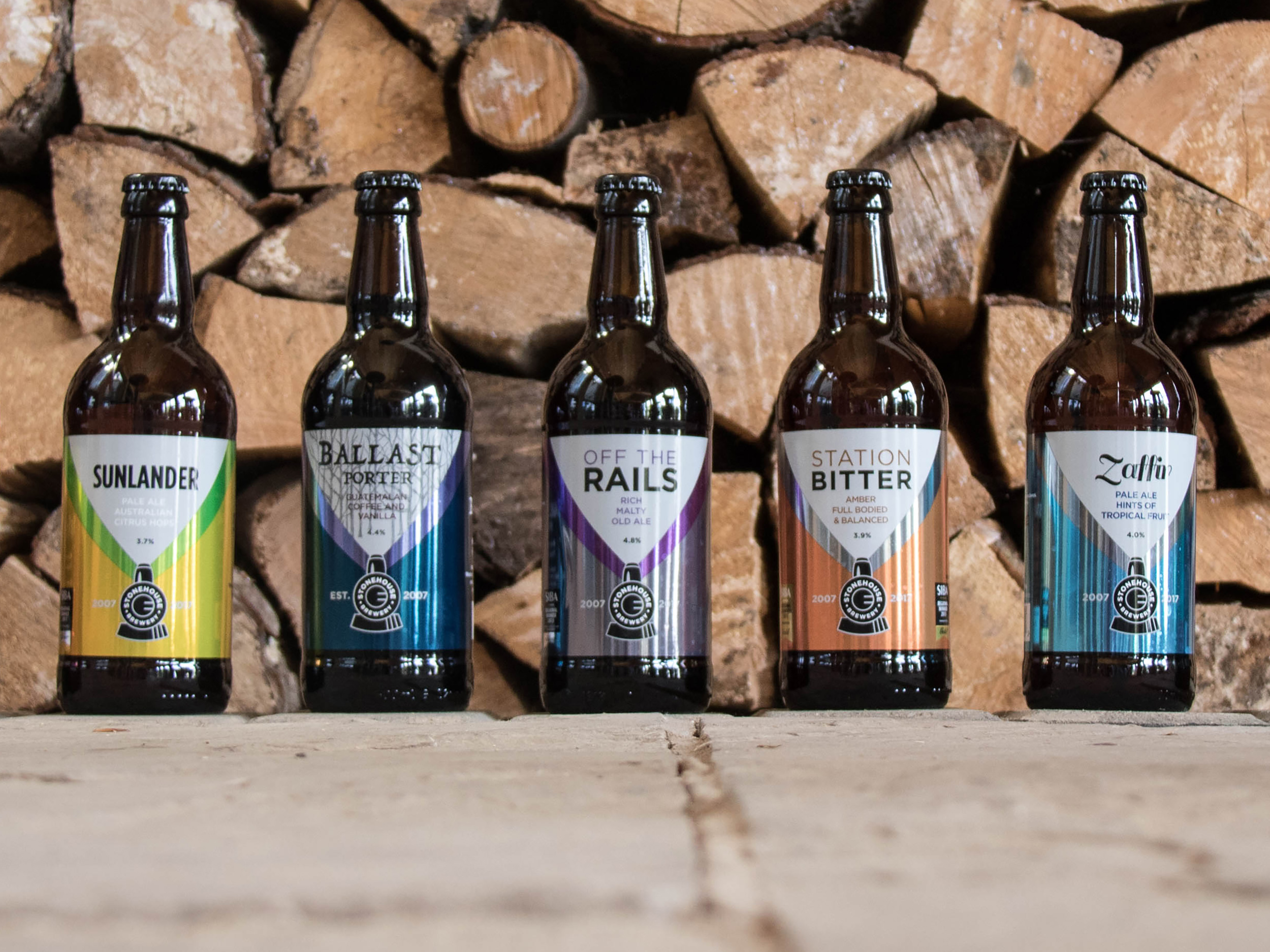 Stonehouse Beer Labels
