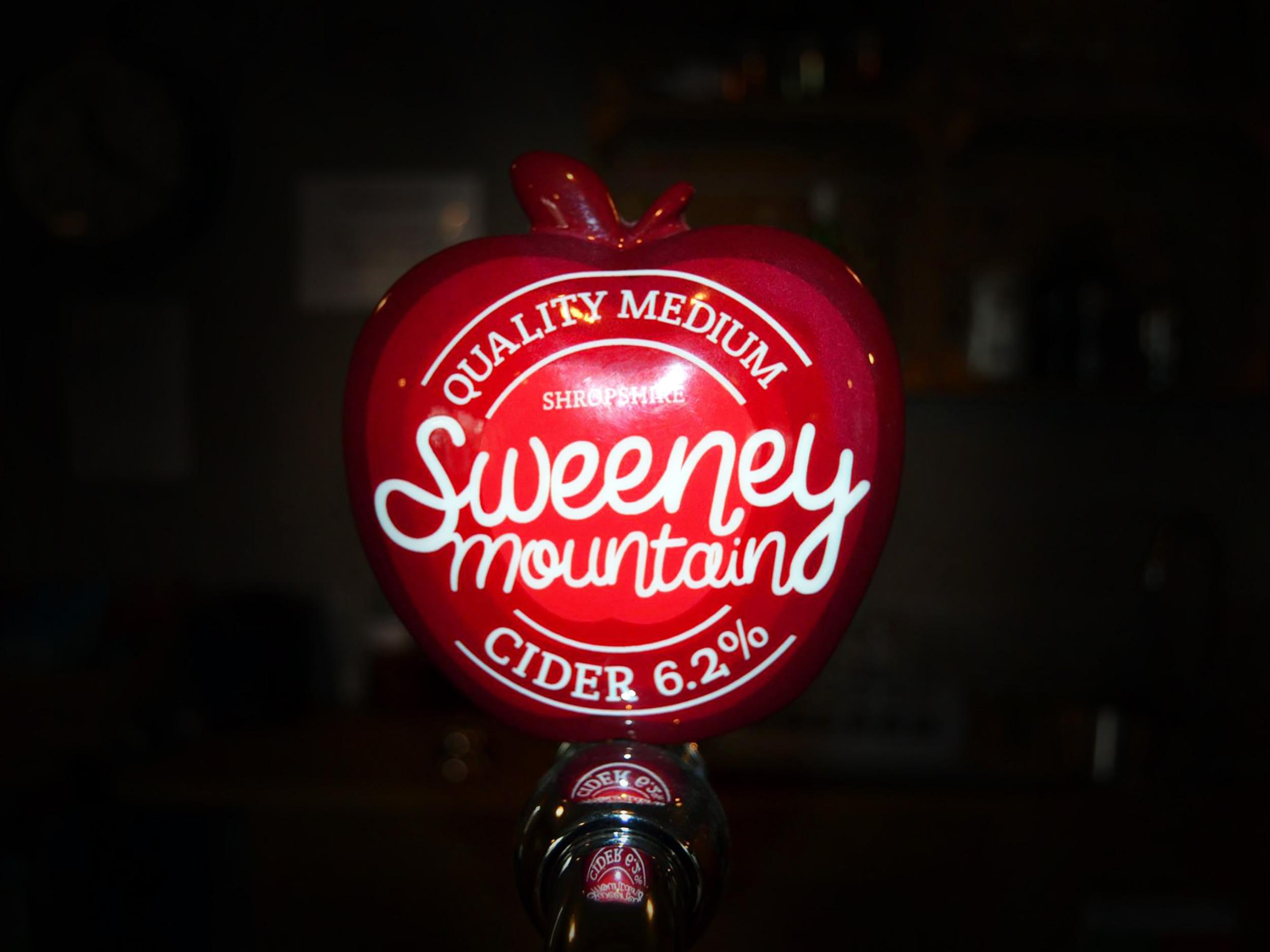 Sweeney Mountain Cider pump clip