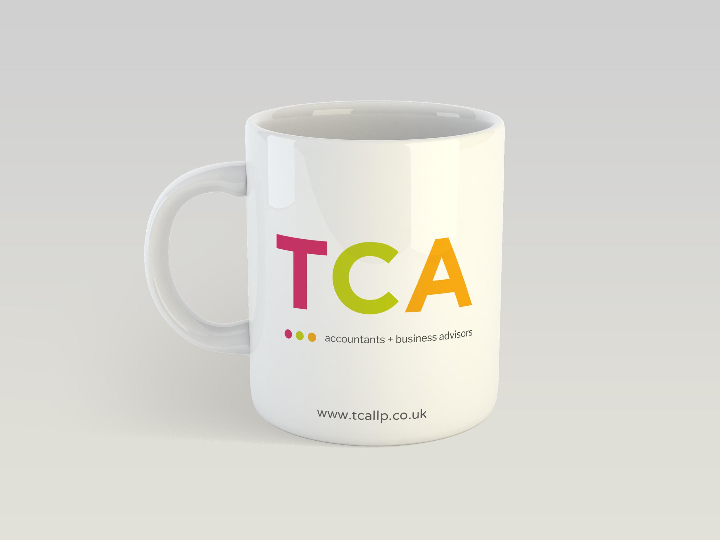 TCA Accountants mugs