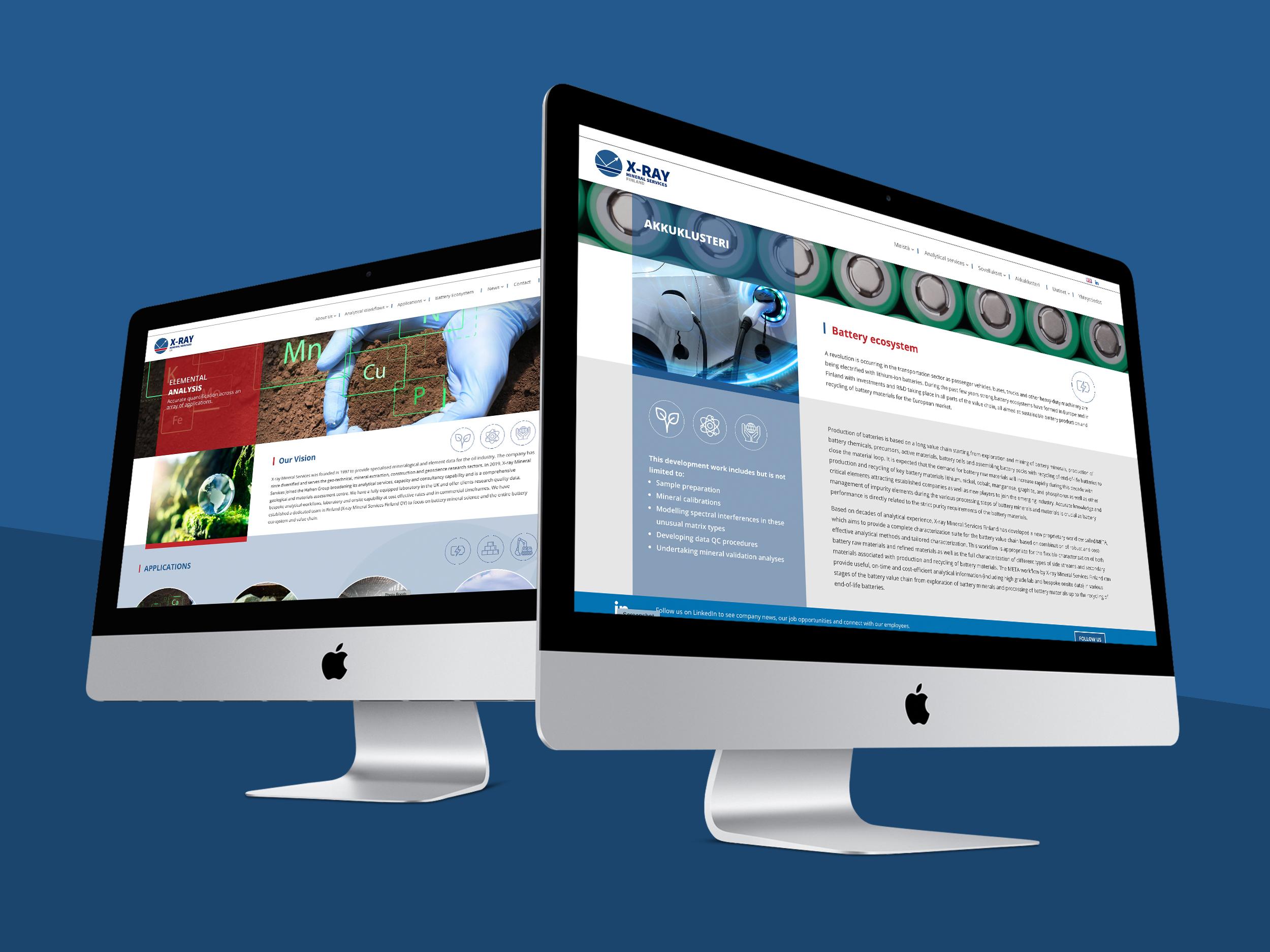 X-ray Minerals website